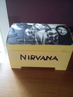 It's a very good and personal present to a Nirvana lover! I really like it