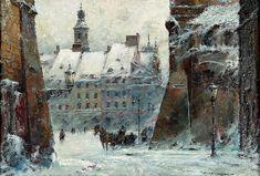 Wladyslaw Chmielinski, Wintry Cityscape