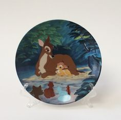 """Walt Disney Bambi Collector Plate, """"Hello, Little Prince"""" Porcelain Plate, Knowles Fine China Collector Plate, Plate 3 in Series by EastWestVintage1 on Etsy"""
