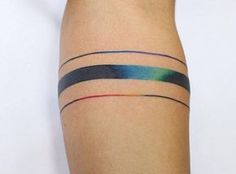 Rainbow - ankle?