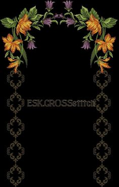 This Pin was discovered by Öze Cross Stitch Designs, Stitch Patterns, Hand Embroidery, Machine Embroidery, Free To Use Images, Prayer Rug, Bargello, Cross Stitch Flowers, Sewing Techniques