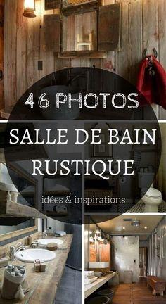 Salle de Bain Rustique : 46 Idées & Inspirations (PHOTOS)