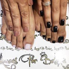 Dia de cuidar das unhas no @loucas_por_beleza_ junto com a mamis   Obrigada pelo carinho de sempre vocês sempre arrasam!