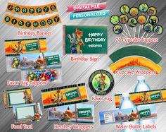 Paquete fiesta imprimible Zootopia por kidspartydiy en Etsy