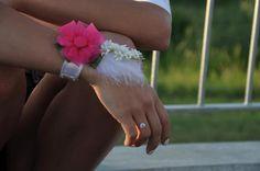 For bridesmaid. Floral bracelet by romi elischer