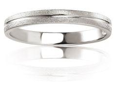 Alliance de mariage en Or 585/1000 - 14 K, Blanc, Alliance Breuning, 48/05622-56G14K