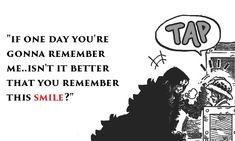 Smile – Trafalgar D. Water Law and Donquixote Rocinante (Corazon) (Corasan, Cora-san) One Piece One Piece Anime, One Piece Comic, Familie Symbol, Manga Japan, One Piece Quotes, One Piece Tattoos, Manga Anime, The Pirate King, Manga Quotes