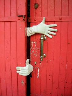 Red Door. Shut the door please! :-)))