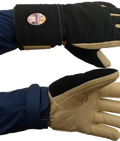 Short Cuff Glove goes over or under the cuff