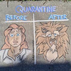 Quarantine: Before 👦 l After 🦁