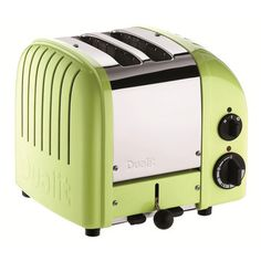 Classic 2 Slice Toaster in Lime.