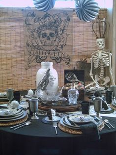 Candlelightsupper Style Your Table: International Talk Like A Pirate Day Pirate Themed Tablescape