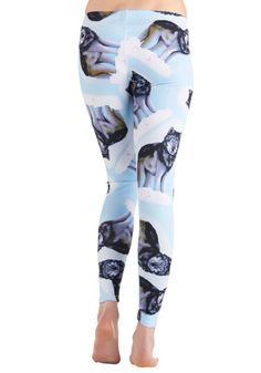 Because I have always wanted airbrushed wolves in skin tight polyester stretched across my hips.
