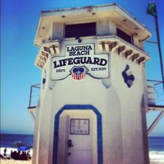 #Lagunabeach #LifegaurdTower #savinglives #Mainbeach