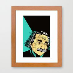 Albert Framed Art Print