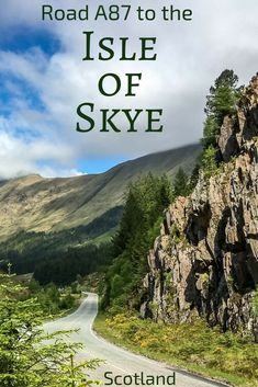 Discover one of the best drives in Scotland: A87 to the Isle of Skye - it takes you between towering mountains, along the tortuous Loch Cluanie and the narrow Glen Shiel before reaching Loch Duich, Eilean Donan and the Skye Bridge.  Photos and info at: ww