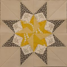 """From the Book """"50 Fabulous Paper-Pieced Stars""""."""