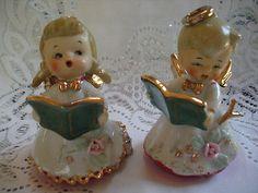 Vintage 1950s Lefton Angel Bells