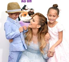 Jennifer Lopez is celebrating her twins Emme and Max's eighth birthday — see the cute photo and read her message!