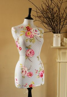 Gorgeous handmade dress forms!