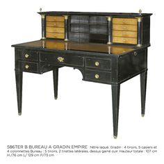 Every goth or vampire needs a lovely writing desk.