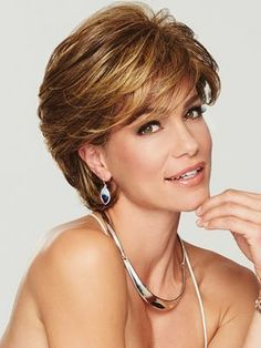 Gratitude by Eva Gabor Wigs - Heat Friendly Synthetic Wig - Frisuren Cool Short Hairstyles, Trending Hairstyles, Short Haircuts, Men's Hairstyles, Hairstyle Ideas, Popular Haircuts, Teenage Hairstyles, Layered Hairstyles, Pretty Hairstyles