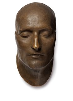 This is the death mask of Napoleon Bonaparte, a cast of the French Emperor's face made from his corpse. Before the invention of photography it was common practice to make plaster or wax casts of the faces of famous people after they had died. Napoleon died on 5th May 1821, imprisoned on the island of St Helena at the age of 51. After his defeat at Waterloo in 1815, Napoleon had been exiled to St. Helena, a tiny island in the South Atlantic. Here the British and their German, Austrian…