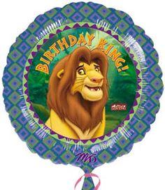 birthday balloons gift table