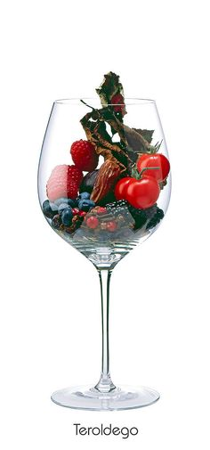 TEROLDEGO Berry, Raspberry, Cherry Tomato, date, fig, leaves, clove, spice mix