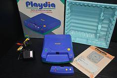 CONSOLE BANDAI PLAYDIA  Q.I.S JAPANESE SYTEM RARE QUICK INTERACTIVE   1994   eBay