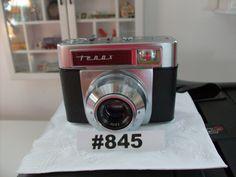 Vintage 1930s Camera Zeiss Ikon TenaxCarl Zeuiss Rangefinder Collectible Tenax…