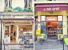 cafe shop front