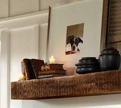 Benchwright Shelf #potterybarn
