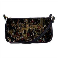 The Battle Between Carnival And Lent Pieter Bruegel Mini Purse & Shoulder Bag