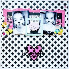 Layout Love - Cute Girl de Crate paper
