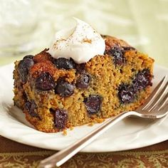 Our Best Diabetic Cake Recipes   Diabetic Living OnlineOvernight      Blueberry Coffee Cake