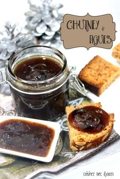 Chutney de figues Piccalilli, Food Club, Foie Gras, Coco, Cheesecake, Brunch, Good Food, Food And Drink, Snacks