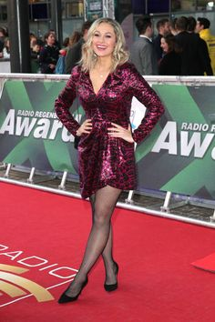 Ruth Moschner during the Radio Regenbogen Award at Europapark on April 2019 in Rust, Germany. Get premium, high resolution news photos at Getty Images Melissa Rauch, Stockings Legs, Kate Beckinsale, Celebs, Celebrities, Kinky, Hosiery, Awards, Lady