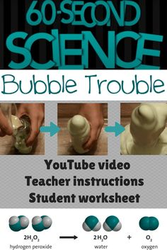 Science video: here's the easiest elephant toothpaste experiment you'll find. Plus, we included a video, teacher instructions, and a student graphic organizer full so they can predict and document the whole thing! Science Videos, Science Fair, Science Experiments, Science Student, Student Teacher, Science Projects, School Projects, Elephant Toothpaste Experiment, Science Diagrams