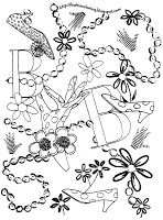 BARBIE COLORING PAGES: FASHION COLORING PAGES OF BARBIE
