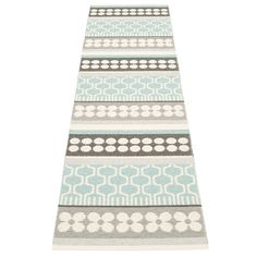 Asta+Gulvteppe+70x180+cm,+Pale+Turquoise,+Pappelina