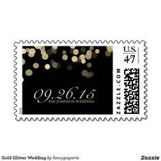 Gold Glitter Wedding