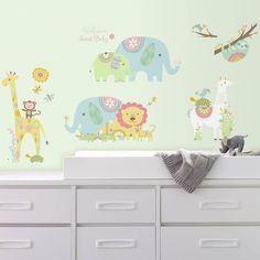 Animal Wall Decals, Nursery Wall Decals, Vinyl Wall Decals, Wall Stickers, Nursery Themes, Nursery Decor, Room Decor, Themed Nursery, Nursery Ideas