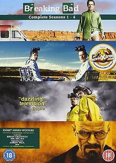 Breaking bad – #complete #seasons 1-4 dvd crime #drama thriller ,  View more on the LINK: 	http://www.zeppy.io/product/gb/2/371720293155/