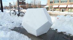 Serious nerd fun: Snow Decahedron