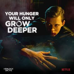 Hemlock Grove // Roman // Your hunger will only grow deeper.