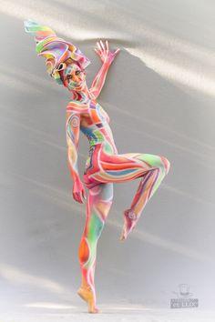 WBF 2014   Airbrush Qualification 'Pop Art'  Photography: Atelier 'et Lux' (Eve Lumière), Artist ID116: Liliana Hopman - Columbia