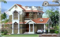 Home Design India Small Size | Two Story Traditional House Floor Plans