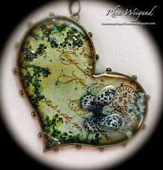 Passionate Paper Creations: Resin and Bezels