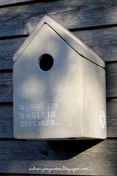Ein Schweizer Garten: Kommt ein Vöglein geflogen...